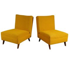 Pair Metamorphic Chairs | From a unique collection of antique and modern lounge chairs at http://www.1stdibs.com/furniture/seating/lounge-chairs/