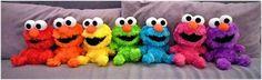 Rainbow Elmos (208 pieces)