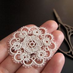 Tatting is traditionally used to add decorative edging to tablecloths, to add collars to clothes, and to make doilies, but did you know that it...