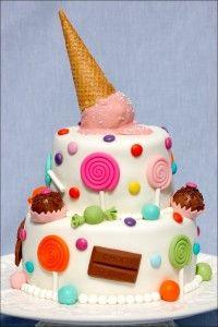verjaardagstaart-snoep-ijsje