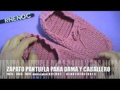 Suscríbete gratis AQUÍ http://www.youtube.com/user/rnenoc Diseño Básico de Zapato Pantufla para hombre o mujer, ajustable a casi cualquier talla de niña o ni...