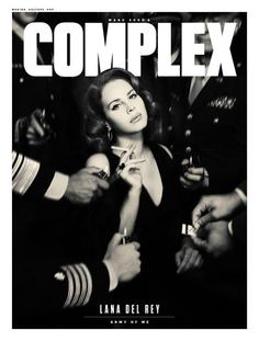 Lana Del Rey Poster - Complex Magazine Cover August 2017 (click to purchase!)