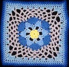 Impossible Hexagon 12 inch Afghan Granny Square. Color combinations for this pattern are endless.