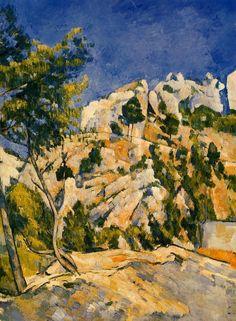 Paul CÉZANNE. Bottom of the ravine [oil on canvas], circa 1879.