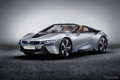 BMW i8コンセプト・スパイダー