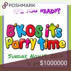 Hey Ya'all. It's Party Time Again Host Picks will all be taken from this listing and Shares to the Party.  So don't forget!!!!  There is no limit on the number of shares you might get!!!   Let's Party 🎤🎼🎉🍷🍷. Have fun and Do Some Holiday Shopping !!! Other