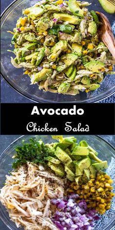 #Amazing #Dessert #Avocado #Chicken #Salad - Recipe =>