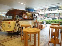 有楽町駅前にキッチンカー、コーヒーは注文後ハンドドリップ(写真ニュース)