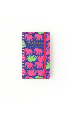 Lilly Pulitzer Medium Agenda in Tusk In Sun. Love the tusk in sun print- but have to have the jumbo instead of medium