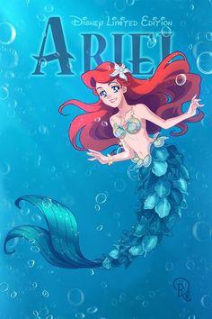 Disney Limited Edition Ariel by Drachea Rannak