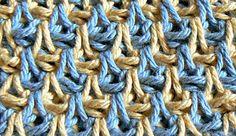 teardrop stitch- actual tutorial here: http://tunicrochetweaver.wordpress.com/2011/04/01/how-to-do-the-teardrop-stitch/