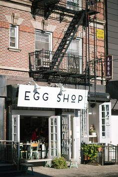 Egg Shop, New York, USA