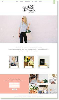 Peyton Campbell Studio is a Houston based creative studio focusing on branding + web design. Web Design Trends, Design Websites, Web Design Tips, Design Blog, Homepage Design, Email Design, Website Layout, Blog Layout, Web Layout