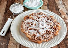 How To Make Funnel Cakes With a video, too! http://www.southernplate.com