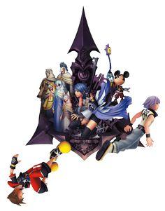 Here's the clean KINGDOM HEARTS HD 2.8 FCP keyart from Famitsu
