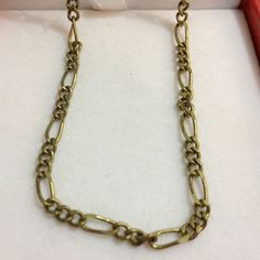 8M Antique Brass Necklace jewel chain Y305