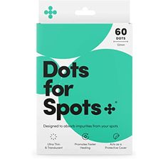 Dots for Spots® Original Acne Absorbing Pimple Patches, Cruelty Free, 1 Pack (24 Dots): Amazon.co.uk: Beauty Organic Tea Tree Oil, Hello Photo, Beauty Uk, Salicylic Acid, Pimples, Cruelty Free, The Cure, Patches, Dots