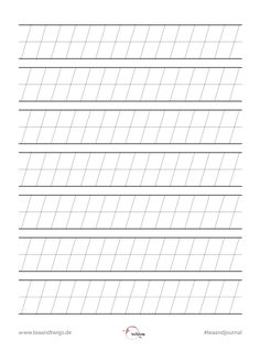 Calligraphy Tools, Calligraphy Alphabet, Caligraphy, Cursive Writing Worksheets, Alphabet Worksheets, Caligrafia Copperplate, Pen & Paper, Hand Lettering Tutorial, Book Writing Tips