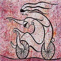 Ciclist by Jose Luis De la Barra