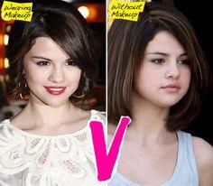 Selina Gomez Celebs Without Makeup, Star Makeup, Demi Moore, Fresh Face, Natural Face, Selena Gomez, Feel Better, Role Models, Celebrity News