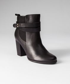 This season, Mark's is pleased to offer great designs from the SUNG by Alfred Sung collection, like these Shawna stacked-heel boots with straps that wrap around the ankles.   Mark's Work Wearhouse, Yorkton