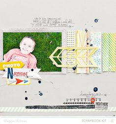 Nathan {Main Kit Only} by maggie holmes at Studio Calico January Kits