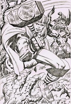 Cap'n's Comics: Thor by Jack Kirby