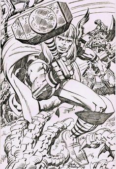 Cap'n's Comics: Thor by Jack Kirby