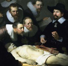 Rembrandt, Anatomy Lesson of Dr. Tulp, Baroque, DUTCH REPUBLIC - Google Search