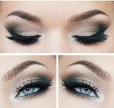 natural makeup for blue eyes - Google Search