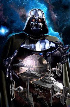 Always Star Wars — The awesome variant covers to Marvel's Darth Vader. Darth Vader Star Wars, Anakin Vader, Anakin Skywalker, Darth Maul, Star Wars Fan Art, Star Wars Comics, Bd Comics, Marvel Comics, Star Destroyer
