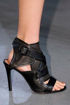 7c61ac303a3 DEREK LAM New York Fashion Week Spring 2013 Spring Sandals