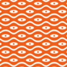 Pattern Backdrop Tangerine Waves