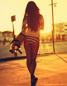 Skater girl fooo life