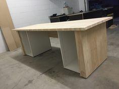 Cabinet Making, Kitchen Island, Home Decor, Woodworking, Island Kitchen, Decoration Home, Room Decor, Home Interior Design, Home Decoration