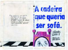 A cadeira que queria ser sofá. - Prémio Nacional de Ilustração 2012 - National Prize of Illustration 2012. - Ana Biscaia