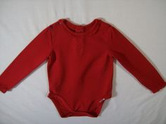 The Children's Place Girls Red Size Months Onsey Long Sleeve Everyday Fall Cheap Baby Stuff, 9th Month, Children's Place, Bodysuit, One Piece, Best Deals, Fall, Long Sleeve, Girls