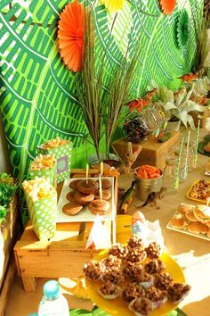 Dino-mite party | Food table details