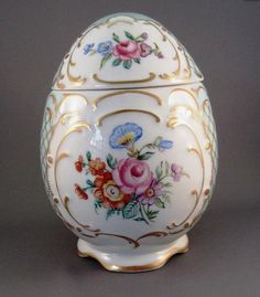 German Porcelain Egg