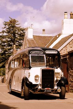 Comrie Bus. by stonefaction, via Flickr