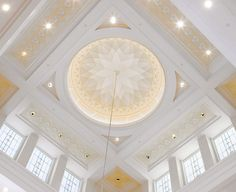 Temple interior. The Church of Jesus Christ of Latter-day Saints.