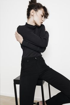 TOKYO KNIGHTS, high waist, slim fit Knights, Dame, High Waist, Tokyo, Black Jeans, Turtle Neck, Fitness, Sweaters, Pants