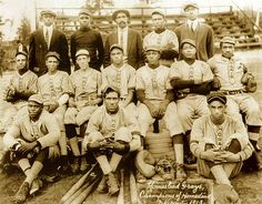 Negro Leagues, Grays, 1913 by Black History Album, via Flickr
