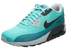 Nike Air Max Lunar 90 Wr Mens 654471-300 Turquoise Athletic Running Shoes Sz 8