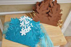 Bridget's Birthday Blog: Frozen Birthday Party - Olaf, Crowns, Reindeer Antlers, & Fun