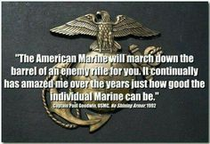 New Quotes Badass Marine Corps Ideas Marine Corps Quotes, Marine Corps Humor, Usmc Quotes, Military Quotes, Military Humor, Military Love, Us Marine Corps, New Quotes, Usmc Humor
