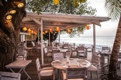 Beach Cafe - Mustique