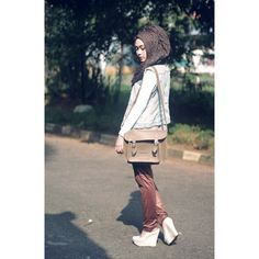 Designer Clothes, Shoes & Bags for Women Hijab Fashionista, Simple Style, Shoe Bag, Polyvore, Shoes, Collection, Shopping, Design, Women