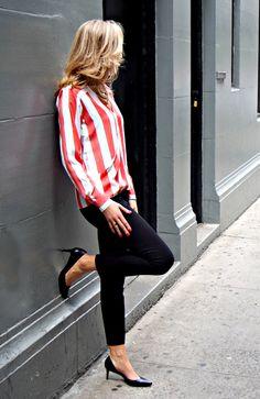 The Classy Cubicle: Stars and Stripes Forever Corporate Fashion, Corporate Attire, Nyc Fashion, Work Fashion, Womens Fashion, Fashion Ideas, Office Fashion, Fall Fashion, Latest Fashion