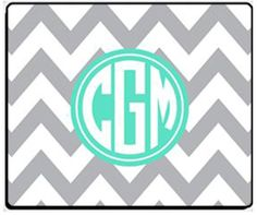 Personalized Mouse Pad  New Patterns & New Colors. $16.50, via Etsy.